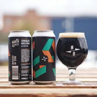 North Brewing Co. - Mystery of Zero - Milk Stout - 6% ABV