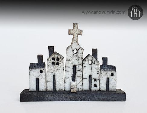 Small Raku House set