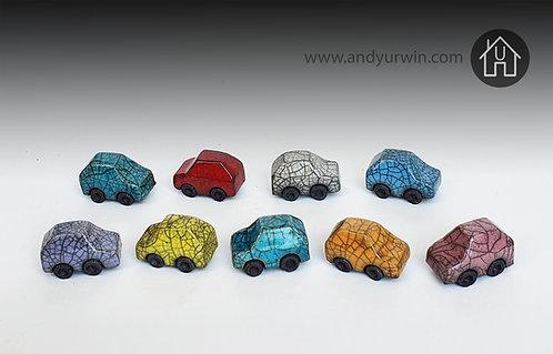 Tiny Raku cars