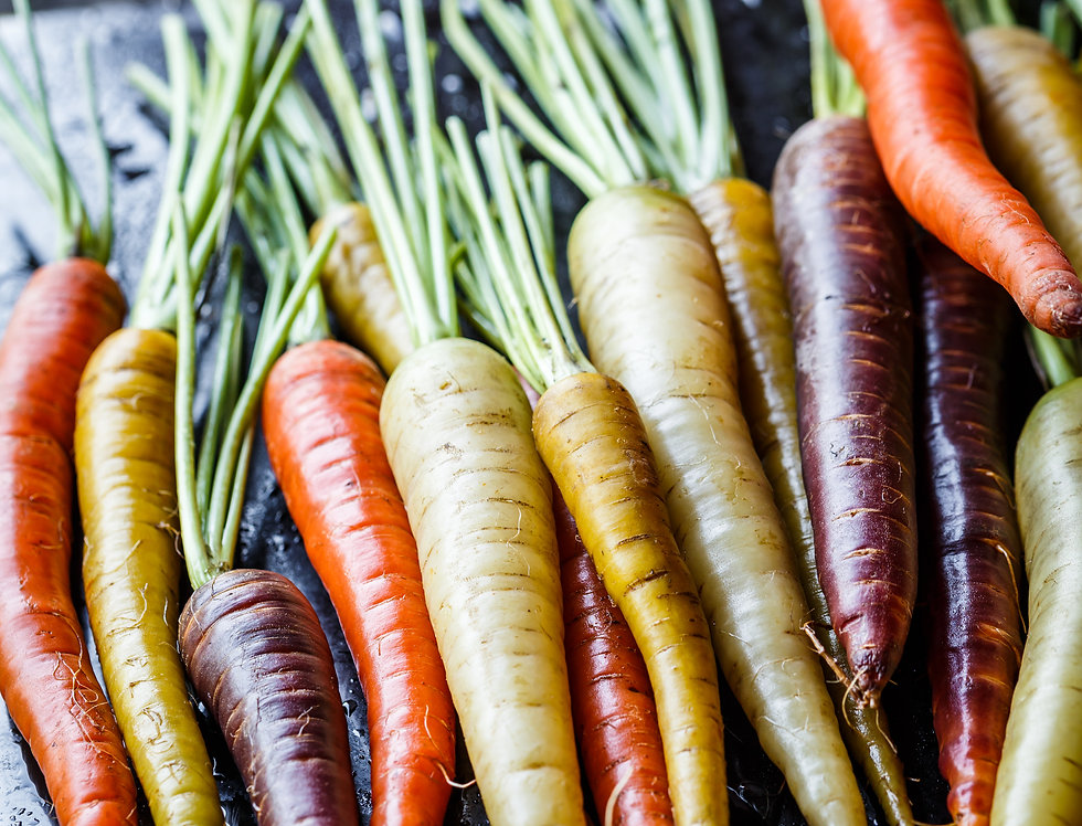 Carrot, Rainbow Mix