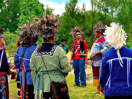 Meherrin, Nottoway and Tuscarora Ceremony Together
