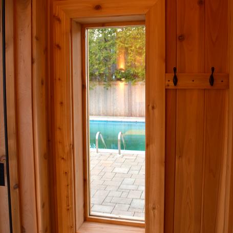 custom sauna design and build