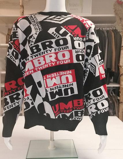 Umbro Sweatshirt Headliner - Schwarz/Weiß/Rot