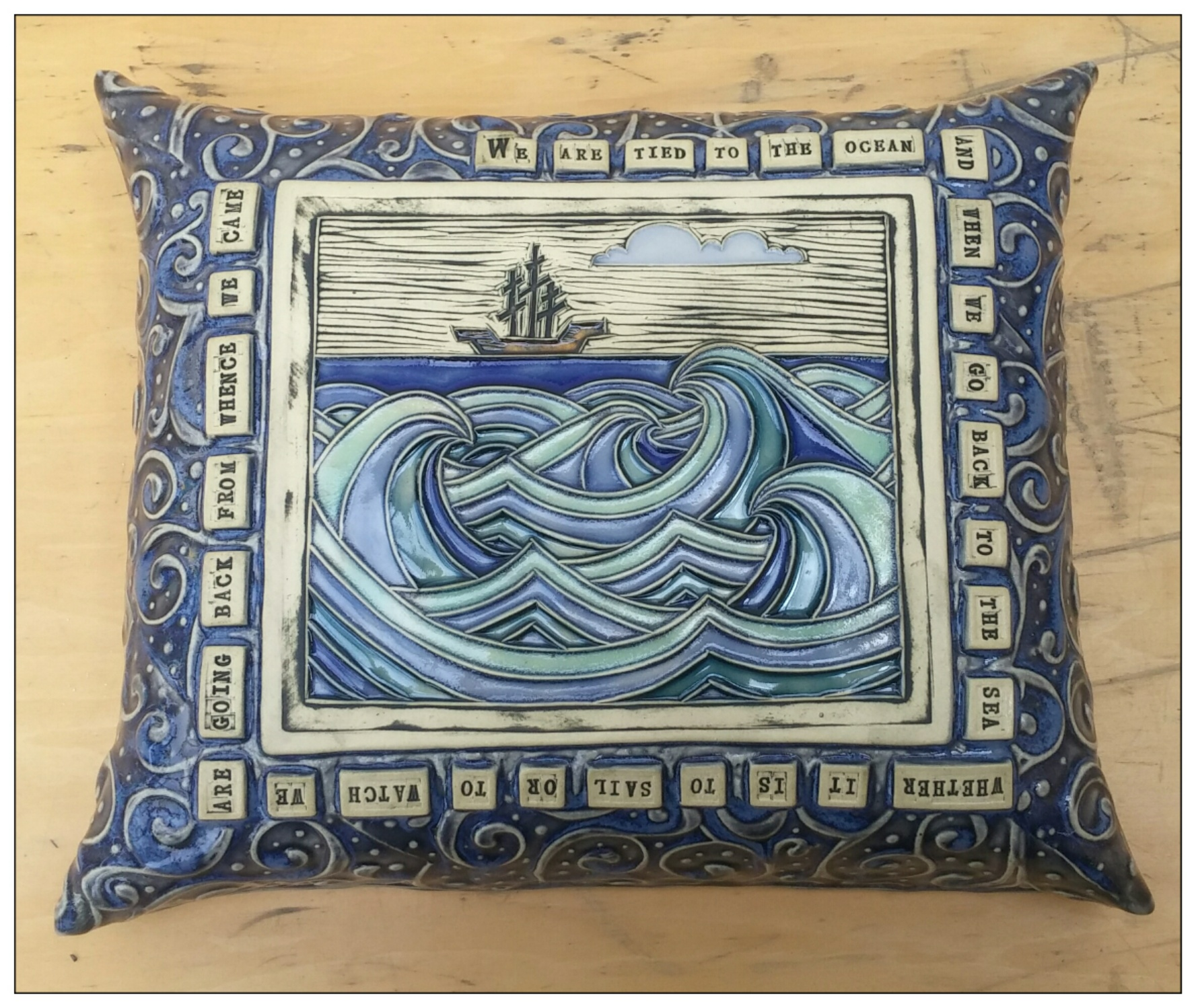 XL ship pillow