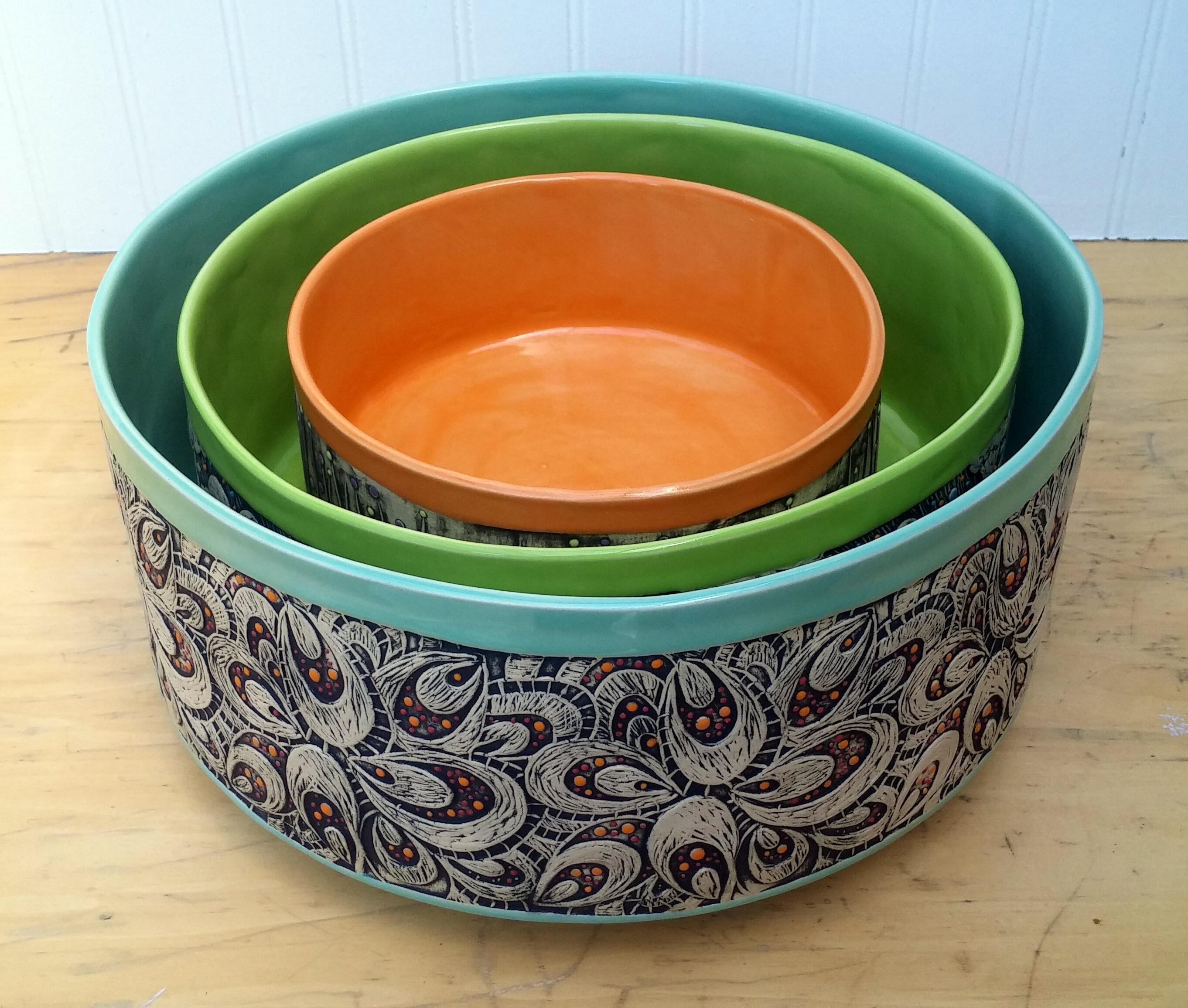 Fancy Nesting Bowls