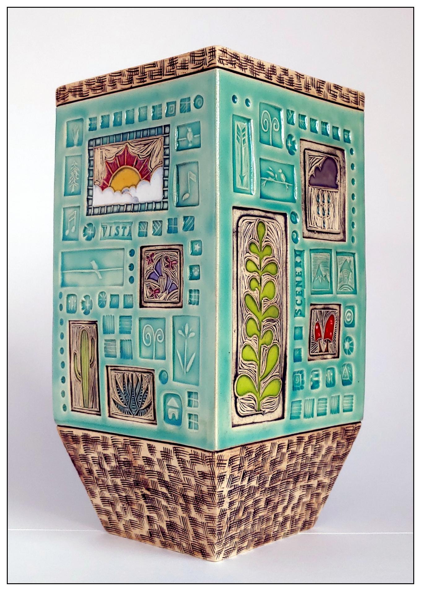 'Landscapes' Vase