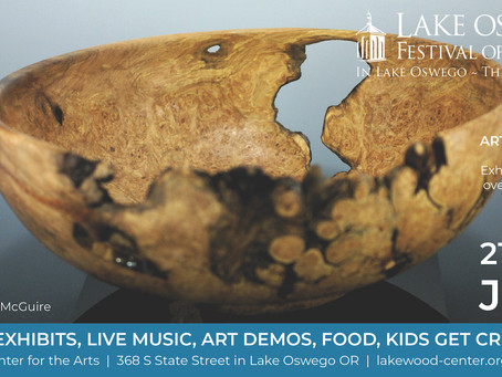 Kristy Lombard Pottery @ the Lake Oswego Festival of the Arts