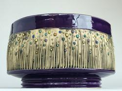 Purple Fancy Bowl  2
