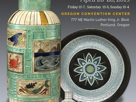 Portland or Bust!  It's Time for Ceramic Showcase 2019!!