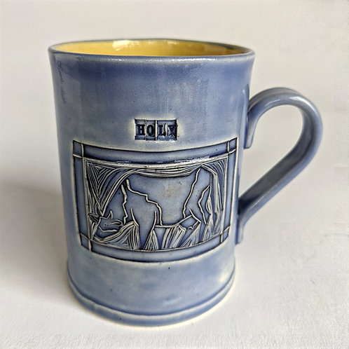Holy Cow Stamp Mug