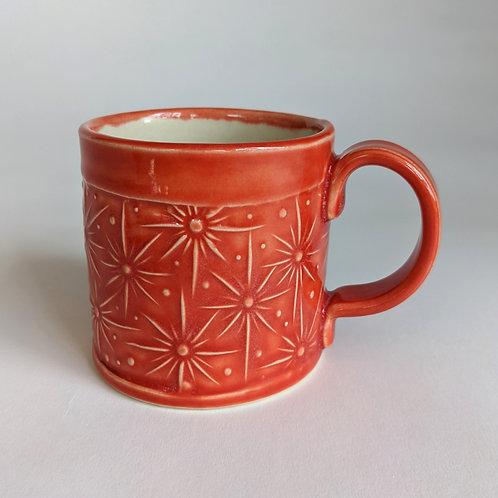 Small Mug Starburst Design