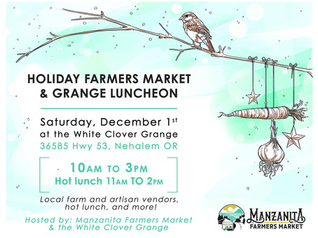 Manzanita Holiday Farmers Market + Kristy Lombard Pottery = Gift Shopping Done!