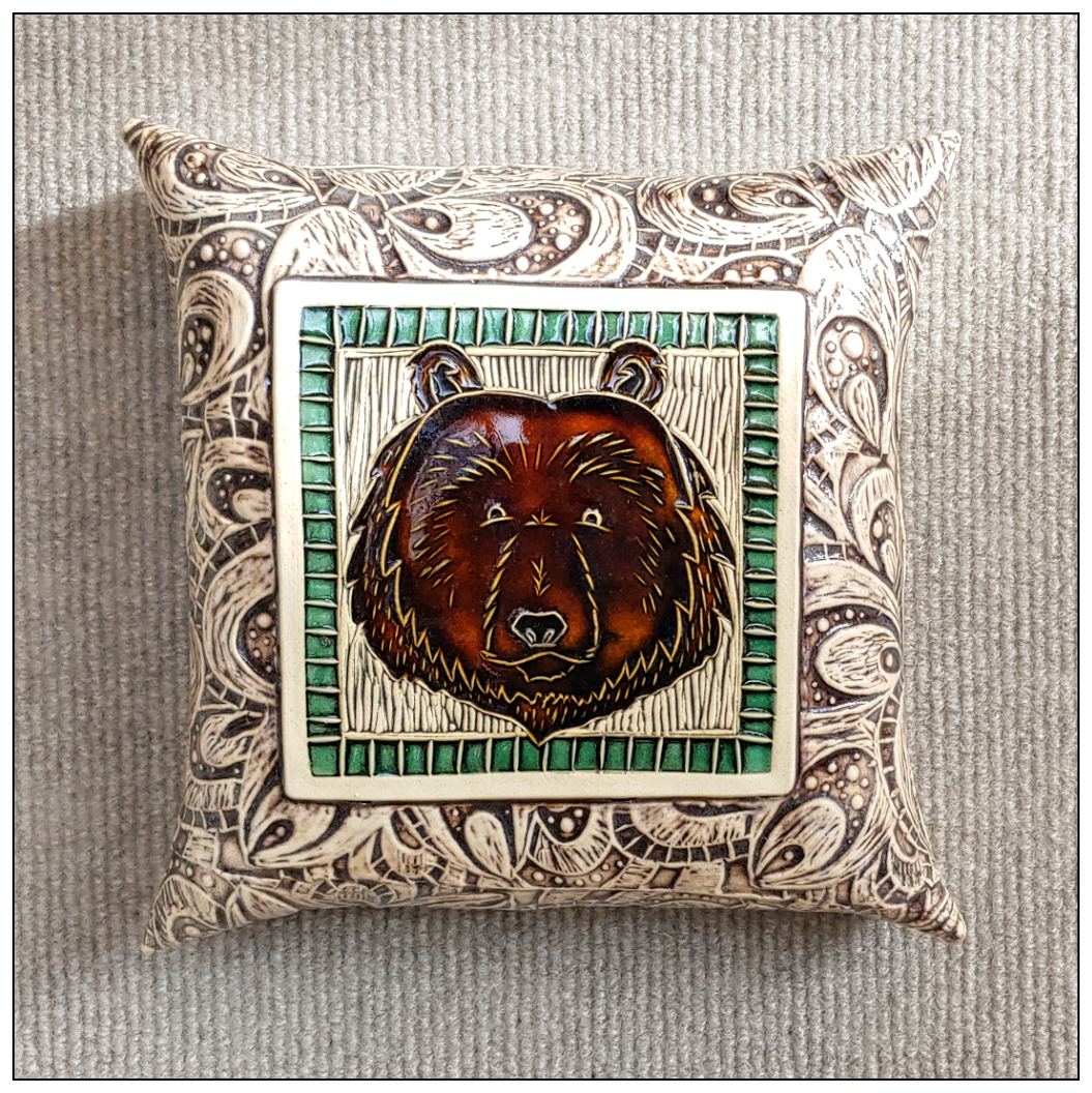 'Griz' Limited Edition Wall Pillow