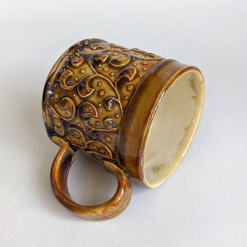 Small Mug Spiral Design