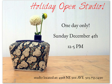 Holiday Open Studio!