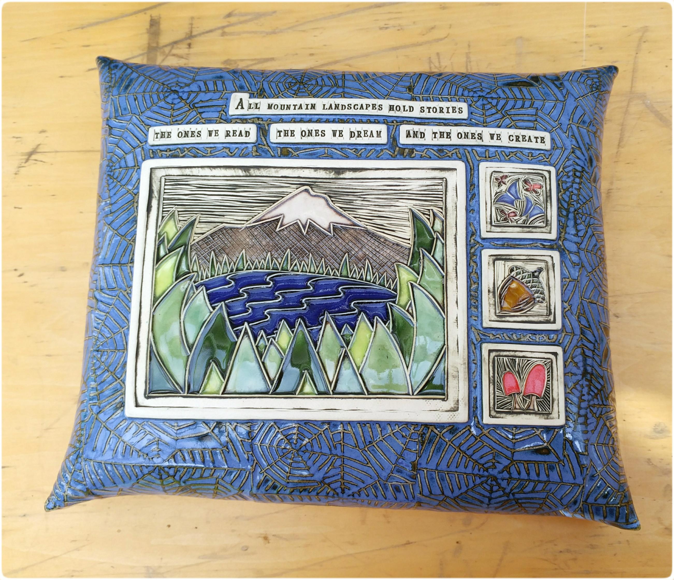 XL Mountain Pillow