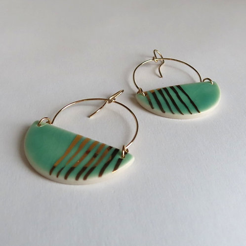 Handmade Porcelain Earrings