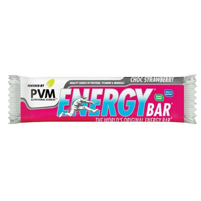 PVM Energy Bar - Choc Strawberry