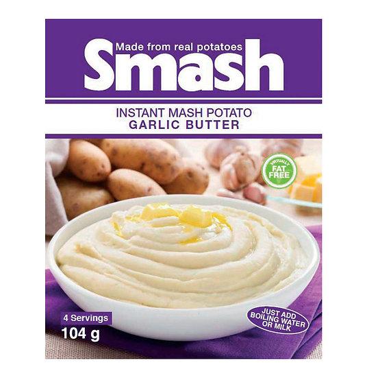Smash Instant Mash Potato Garlic Butter