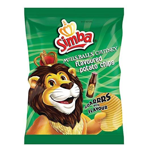 Simba - Mrs Balls Chutney Chips 125g