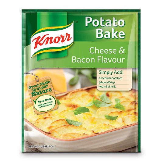 Knorr Cheese & Bacon Potato Bake