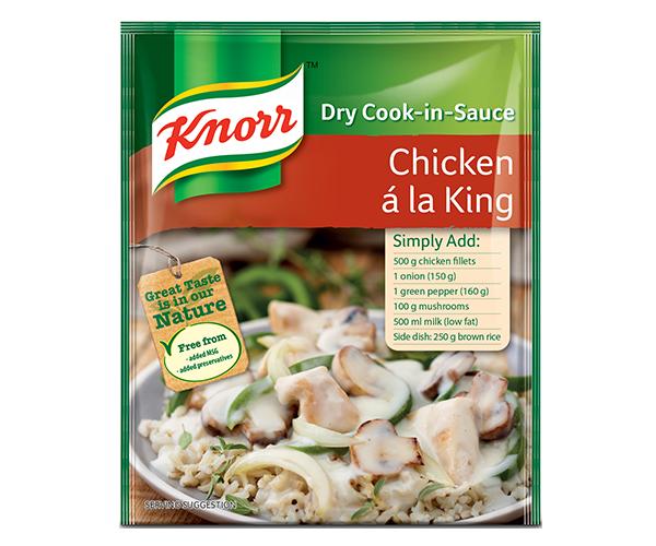 Knorr Chicken a la King Sauce