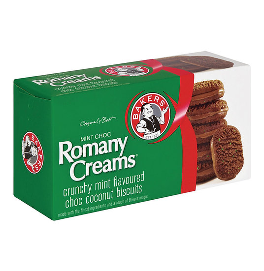 Bakers Romany Cream - Mint 200g