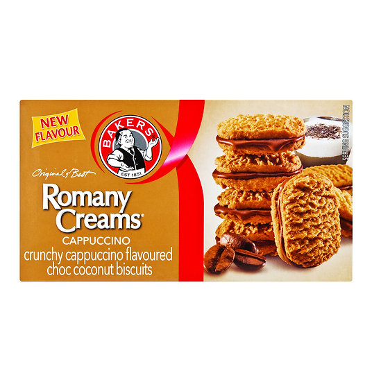 Bakers Romany Cream - Cappuccino 200g