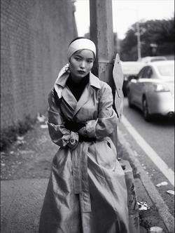 Ling Liu for Elite Model Management