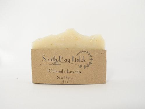 Oatmeal + Lavender Soap