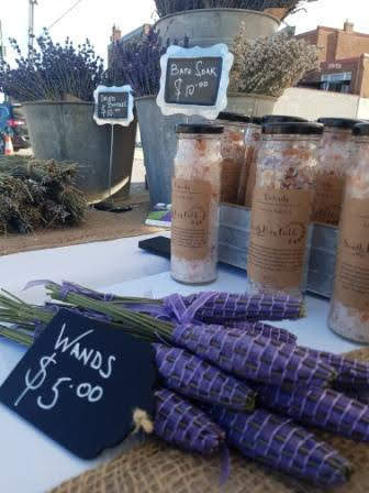 Lavender products at farmers market.jpg