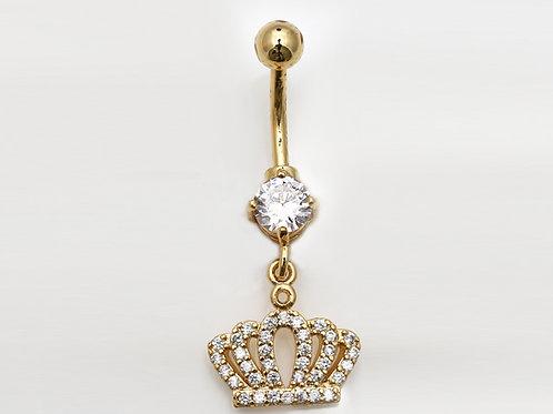 """Bauchnabelpiercing """"Royal Crystalls"""" mit SWAROVSKI®Kristallen"""