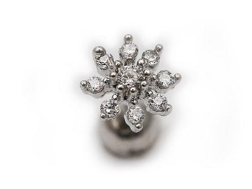 """Ohrpiercing mit SWAROVSKI® Kristallen """"Karma Crystalls"""""""