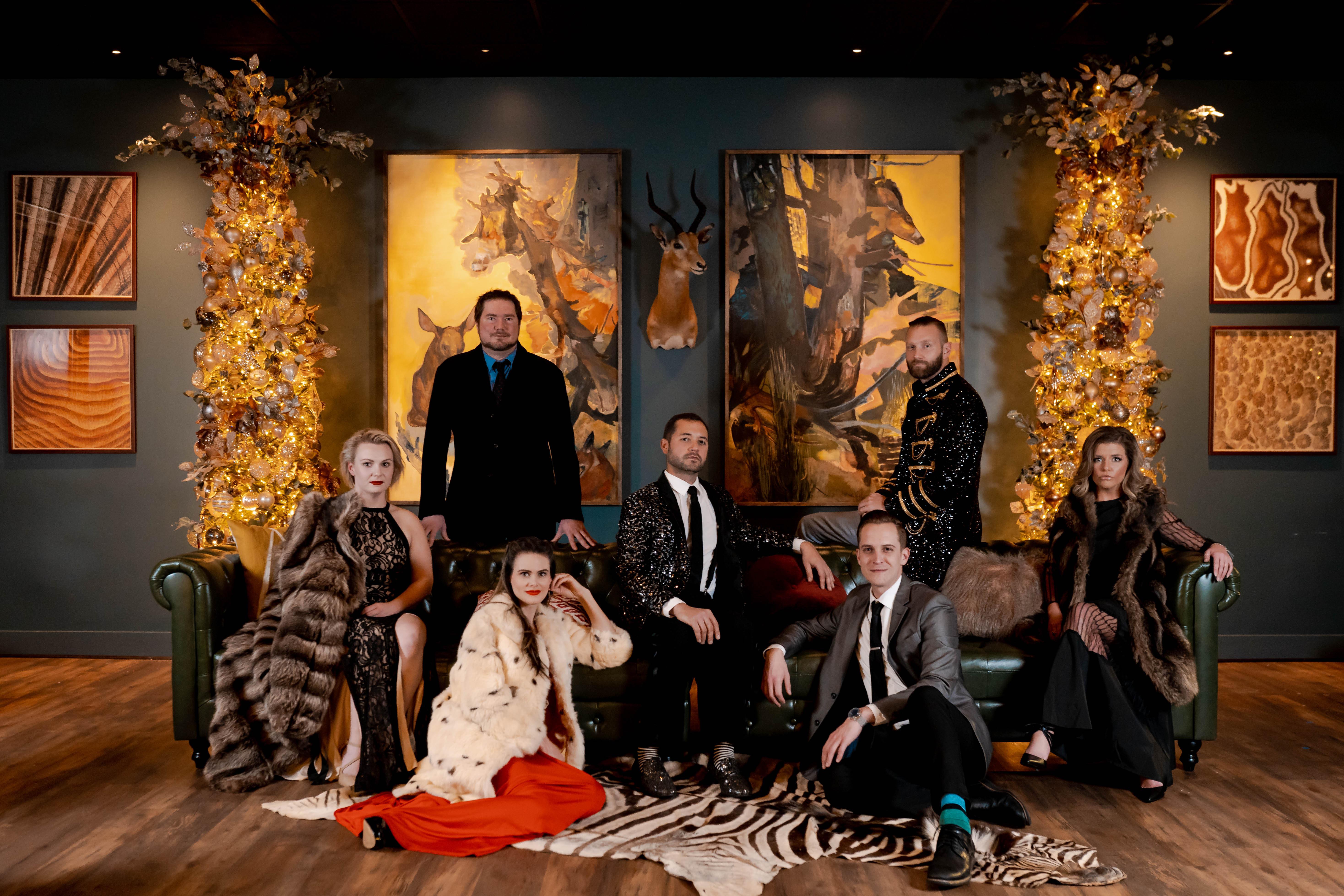 Christmas Photo with Staff 2020
