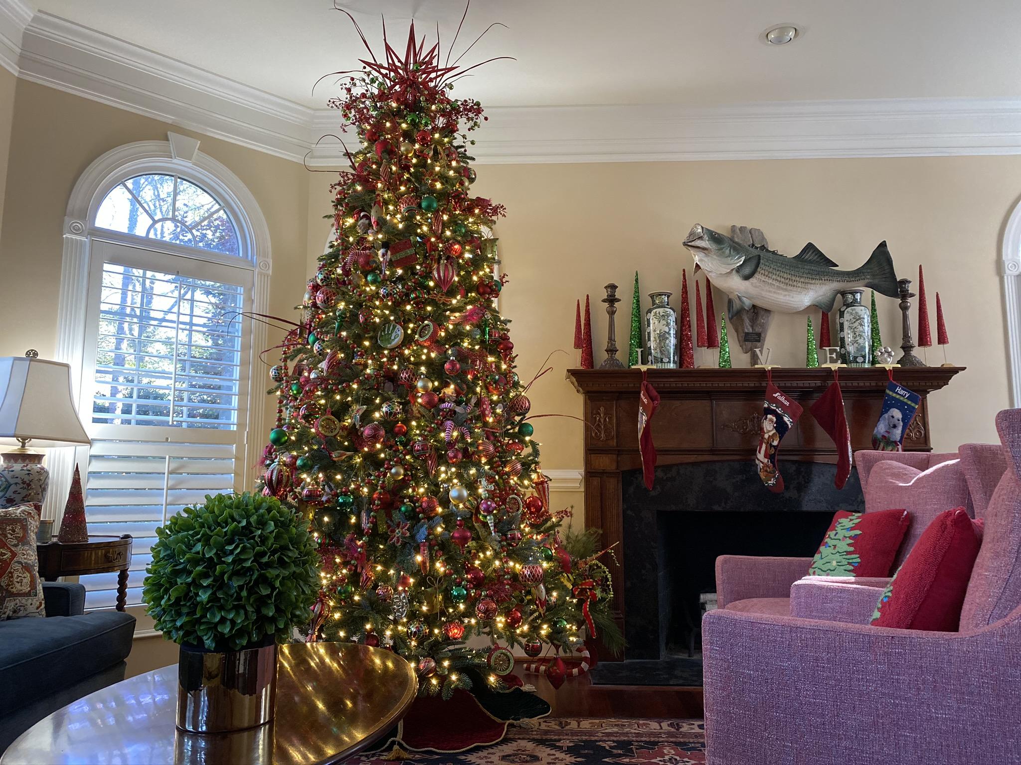 Holiday Interior Install