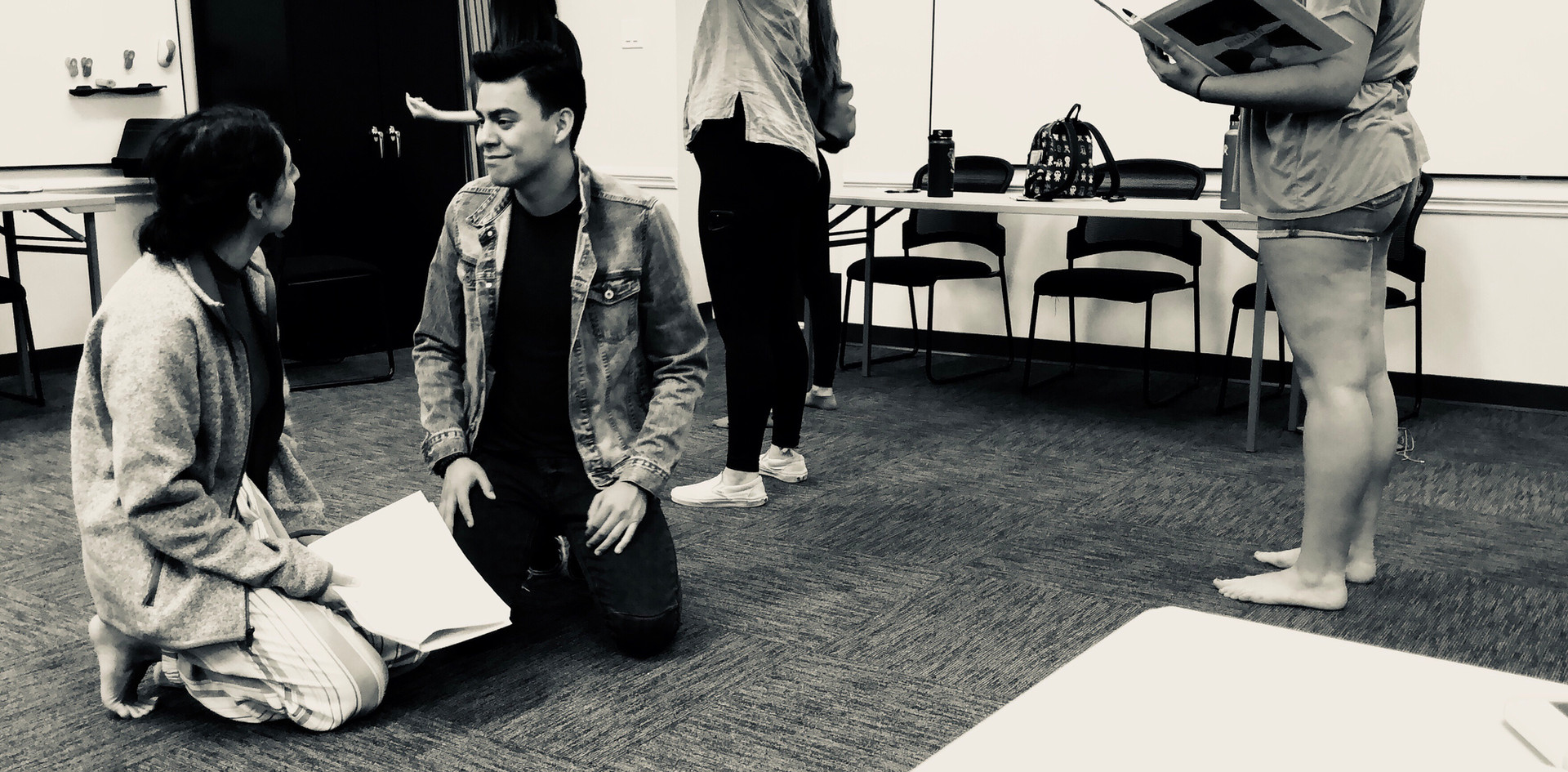 Staged Reading Rehearsal