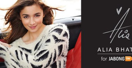 Actress Alia Bhatt launches her first Clothing line on Jabong