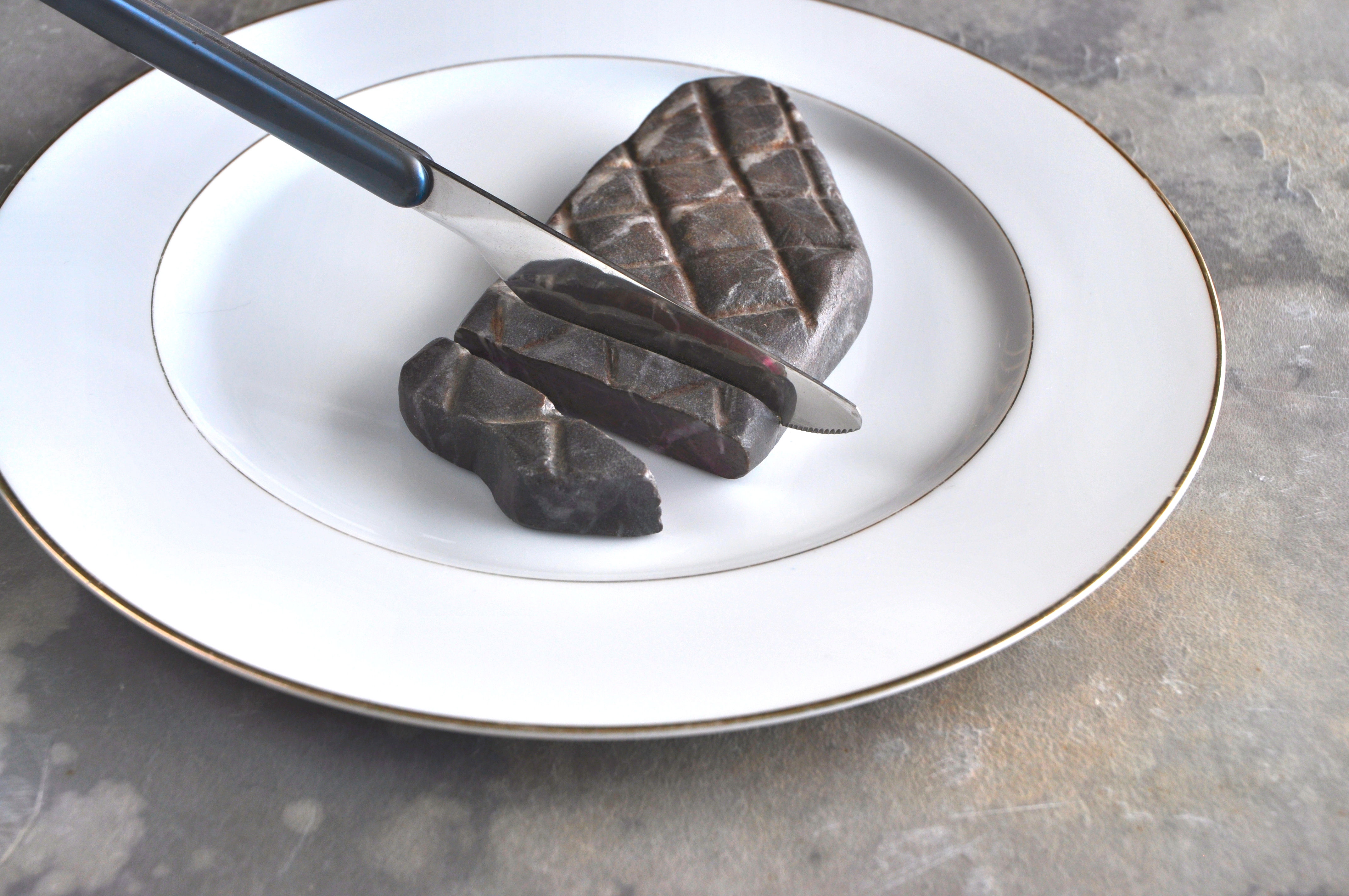 マーブルステーキ