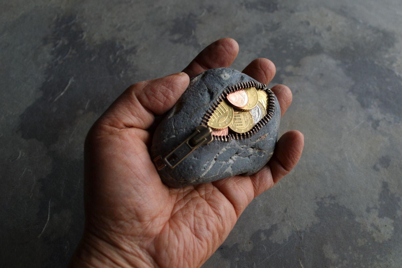 コイン入り財布