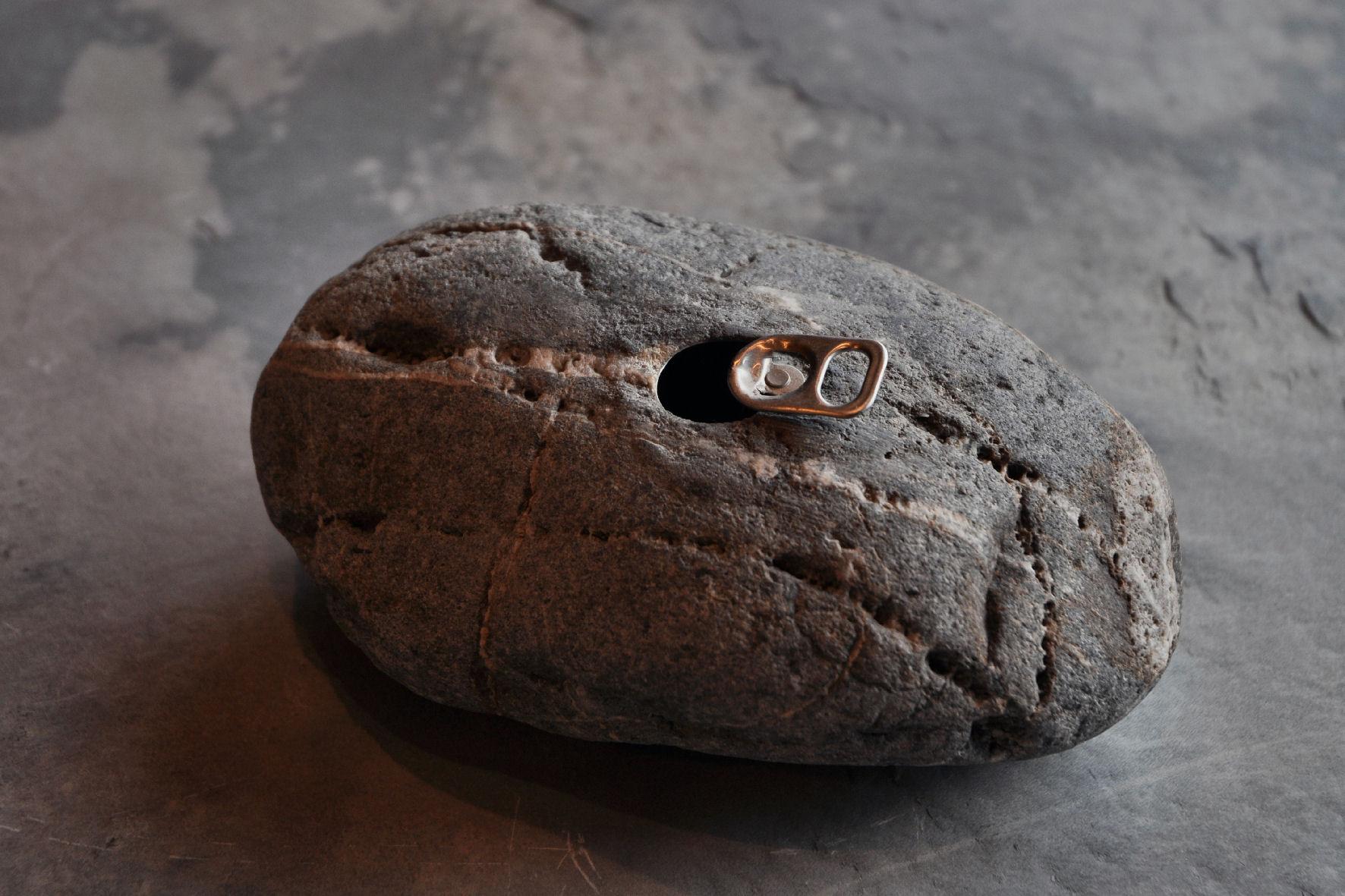 空き缶の化石