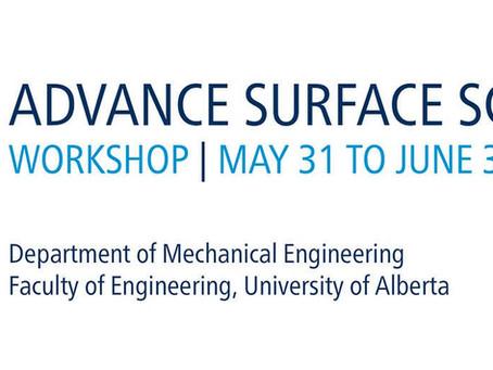 Advance Surface Science workshop 2016