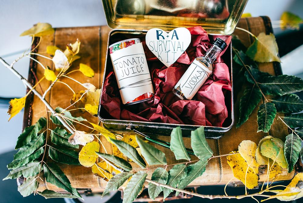Morning After Survival Kit // Wedding Favors