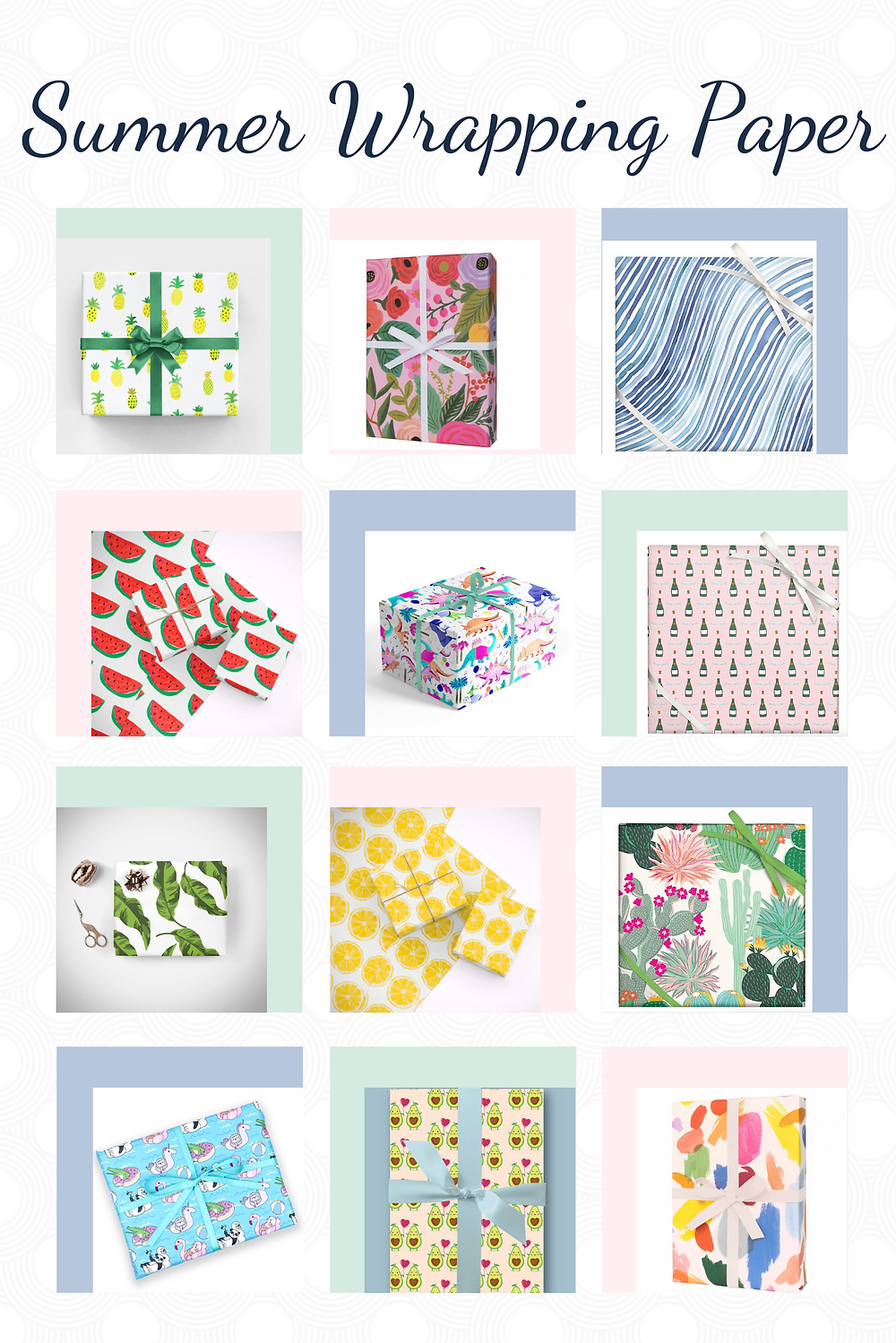 Summer Wrapping Paper