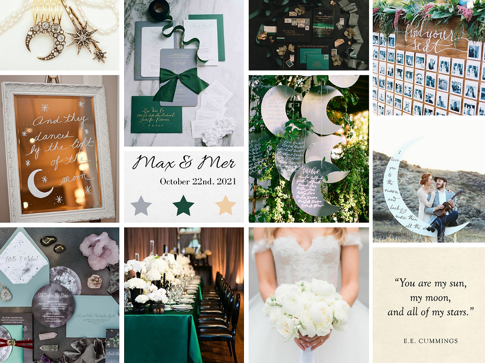 Celestial Micro-Wedding Inspiration