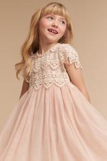 BHLDN Flower Girl Dress Blush