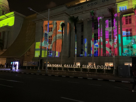Virtual tours conducted by the National Gallery Singapore