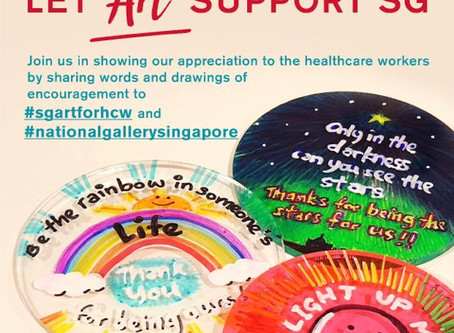 Public Campaign to Support Healthcare Workers (#sgartforhcw)