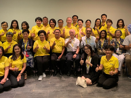 U3A Chiang Rai visits Singapore - Group visit