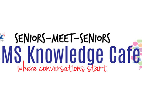 eSMS (Seniors-Meet-Seniors) Knowledge Cafe - Oct 2020