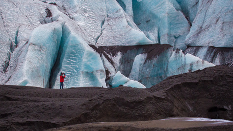 Contrasto in Islanda